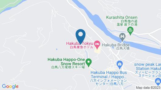 Mountainside Hakuba Map