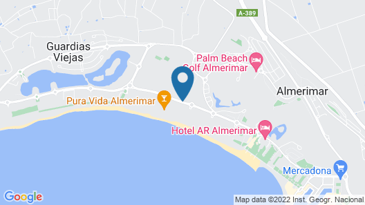 Nice apartment, beach line 1. Swimming pool, paddle tennis, golf. Complete equipment Map