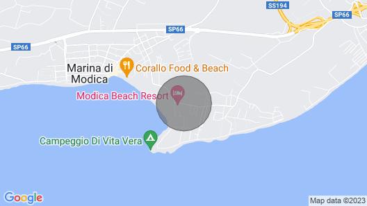 LE TRE Gorgoni Residence, UN Complesso DI Appartamenti Climatizzati CON Veranda Map