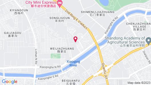 Jinan Huangtai Hotel Map