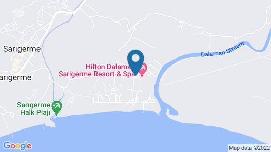 Hilton Dalaman Sarigerme Resort & Spa Map
