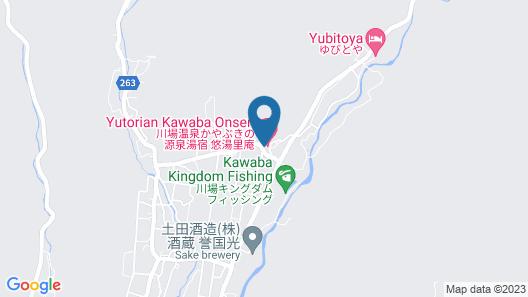 Kawabaonsen Kayabukinogensenyuyado yutorian Map