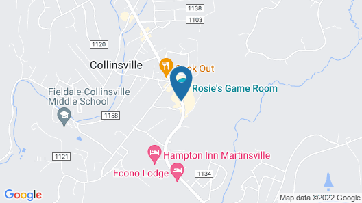 Scottish inns Collinsville-Martinville Map