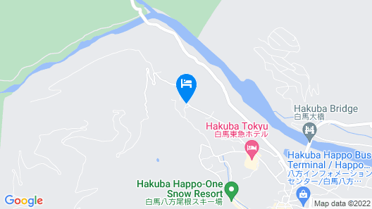 Hakuba Powder Mountain Map