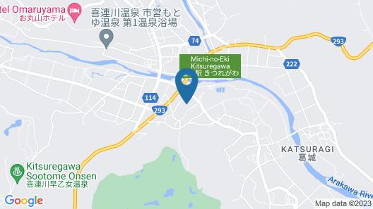 Hotel Katsuragi Map