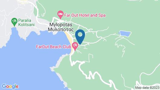 Dionysos Sea Side Resort Map