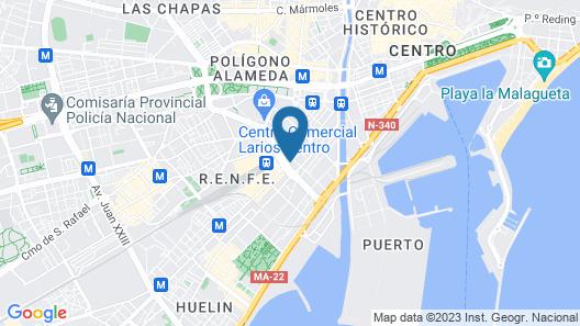 Hotel Las Américas Map