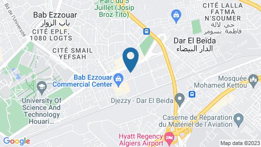ibis Alger Aéroport Map