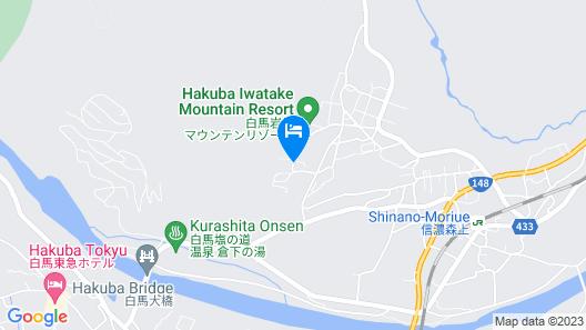 Hakuba Landmark Iwatake Lodge Map