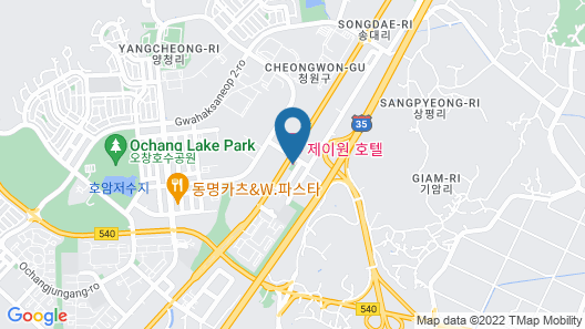 J-One Hotel Map