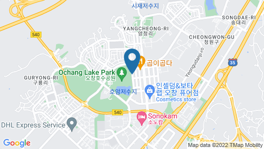Hera Motel Map