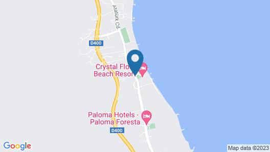 Crystal Flora Beach Resort – All Inclusive Map