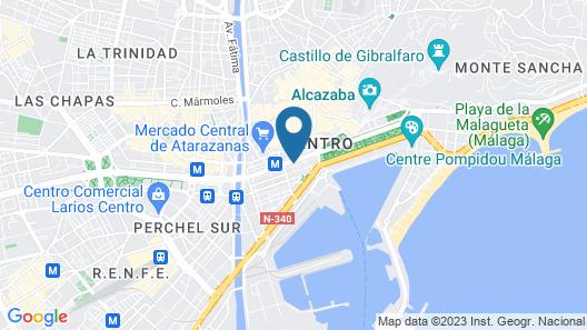 Hotel Venecia Map