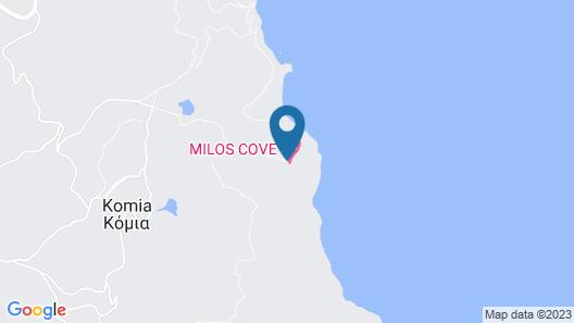 Milos Cove Map