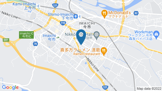 Nikko Dream House Map