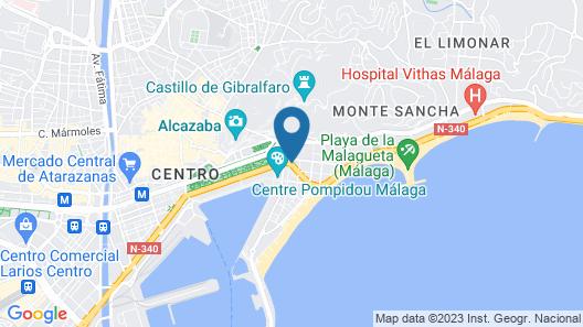 Hotel MS Maestranza Map