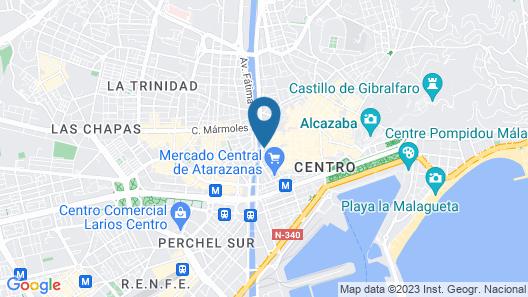 Vincci Seleccion Posada del Patio Hotel Map