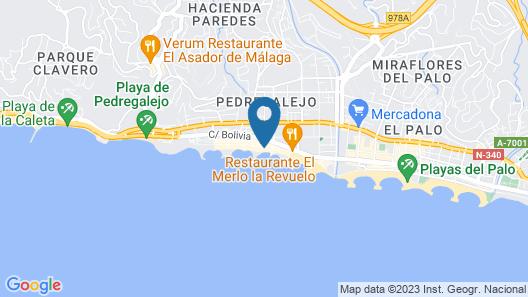Hotel La Chancla Map
