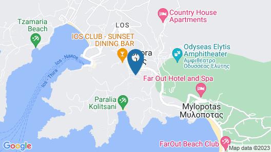 Lofos Village Hotel Map