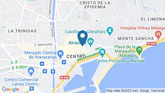 Soho Boutique Museo Map