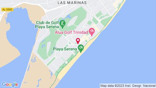 Hotel Best Roquetas Map