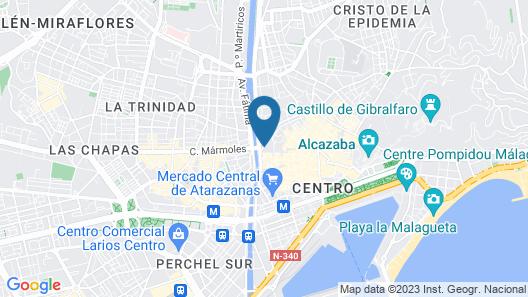Hotel Tribuna Map