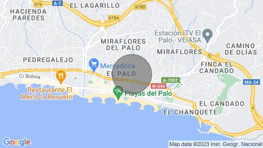 3 Bedroom Accommodation in Málaga Map