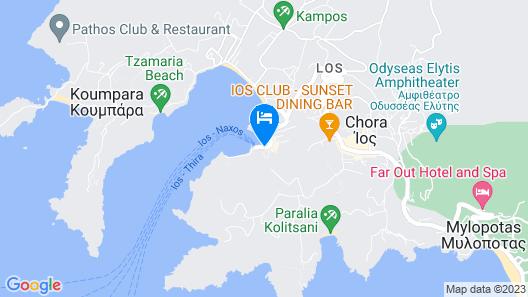 Relux Ios Design Hotel Map