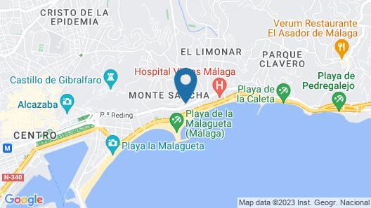 Hotel Soho Los Naranjos Map