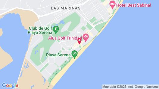 Hotel Bahia Serena Map