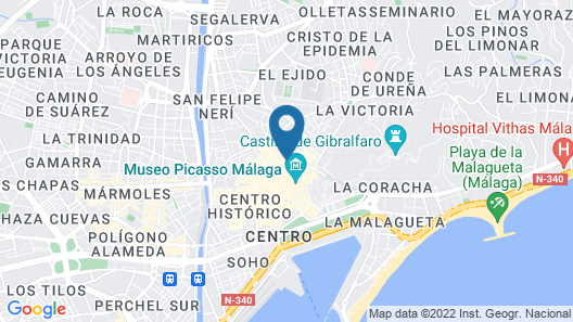 Holidays2Malaga Flamenco Apartments Map