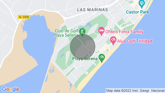 Beach, Pool and Golf, Private Wifi Map