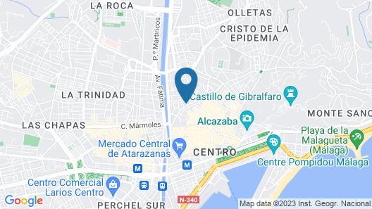 La Casa Mata Central Map