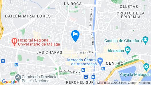 MalagaSuite Center Málaga Map