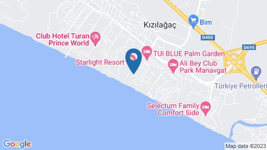 TUI BLUE Palm Garden - All Inclusive Map