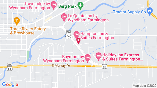 Motel 6 Farmington, NM Map