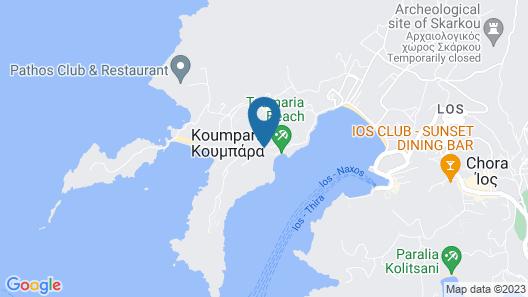 Agalia Luxury Suites Map