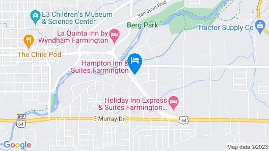 Hampton Inn & Suites Farmington Map
