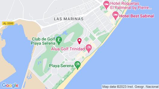Fenix Beach Apartamentos Map