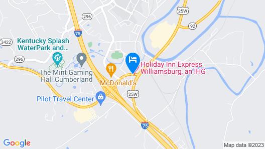 Holiday Inn Express Williamsburg Map