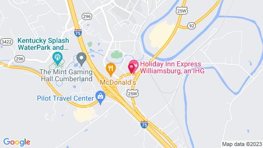 Holiday Inn Express Williamsburg, an IHG Hotel Map