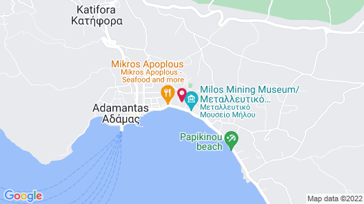 The Millers House Adamas Sea View Map