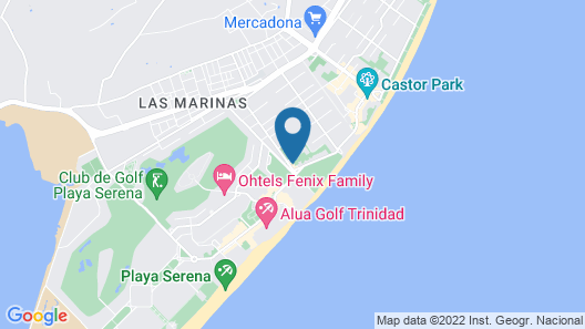 Playalinda Aquapark & Spa Hotel Map