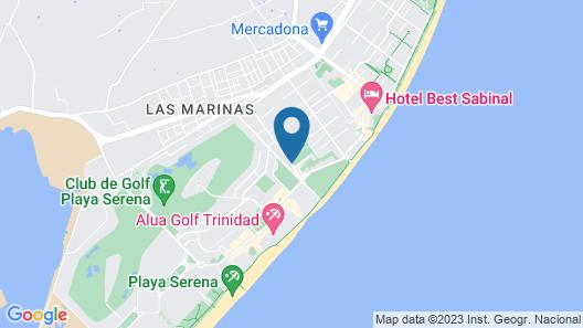 Diverhotel Roquetas Map