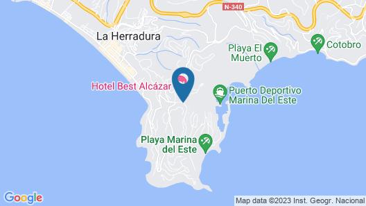 Hotel Best Alcazar Map