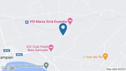 VOI Marsa Siclà Resort Map