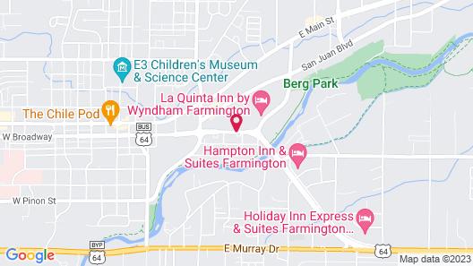 The Region Inn Farmington Map