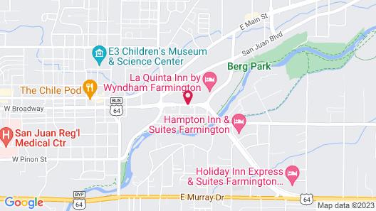 Brentwood Inn & Garden Map
