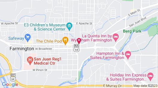 Economy Inn Map