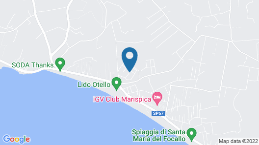 Nicolaus Club Borgo Rio Favara Resort Map